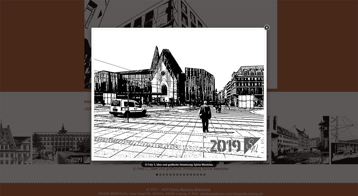 LEIPZIG - FOTOGRAFIE ALS KUNST - Foto, Idee und grafische Umsetzung: Sylvia Wentzlau